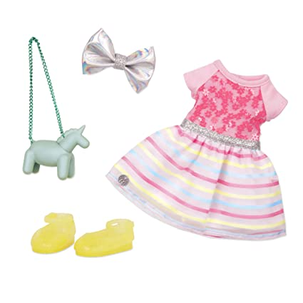 7c21775d9936f Glitter Girls by Battat - Shiny Flowers In Bloom Outfit -14