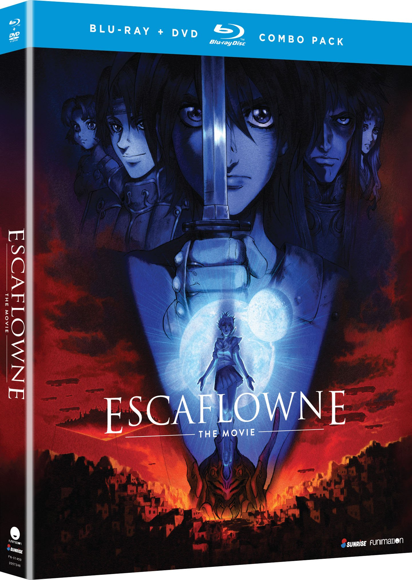 Blu-ray : Escaflowne: The Movie (With DVD, 2 Disc)
