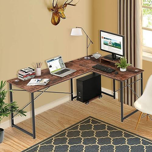 Cyfie L-Shaped Computer Desk
