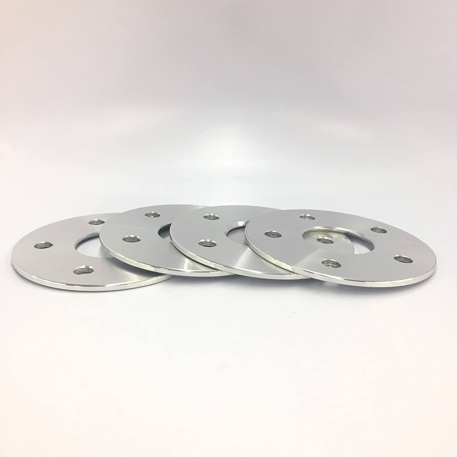 4 Pieces 3//16 5mm Hub Centric Wheel Spacers Adapters Bolt Pattern 5x115 Thread Pitch 14x1.5 Center Bore 71.5mm Fits Dodge