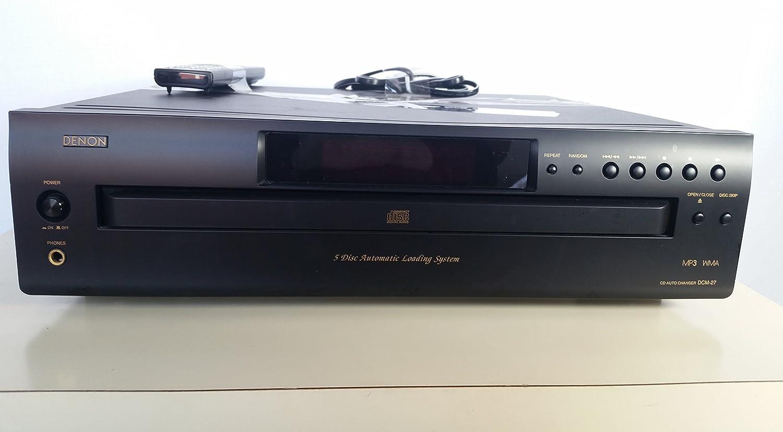 Denon DCM-27 5-Disc CD Changer (Discontinued by Manufacturer)