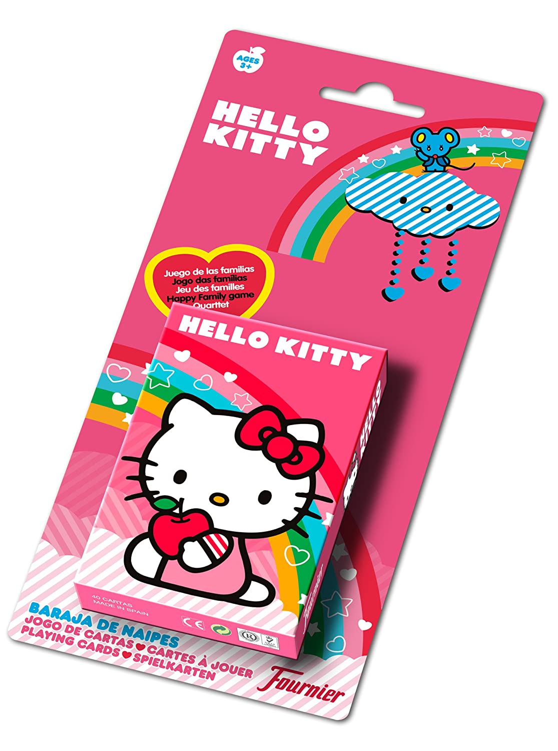 Fournier - 41998 - Juego de cartas - Hello Kitty: Amazon.es ...