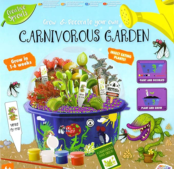 Grow It Grow Your Own Carnivorous Plants Insect Eating Plants Gift Box