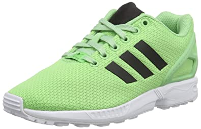 adidas ZX Flux, Chaussures de Fitness Mixte Adulte - Vert (Super vert F15/core noir/FTWR blanc), 41 1/3 EU