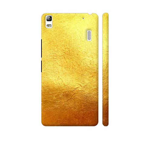 size 40 8060c 183d6 Colorpur Pire Yellow Gold Print Printed Back Case Cover: Amazon.in ...