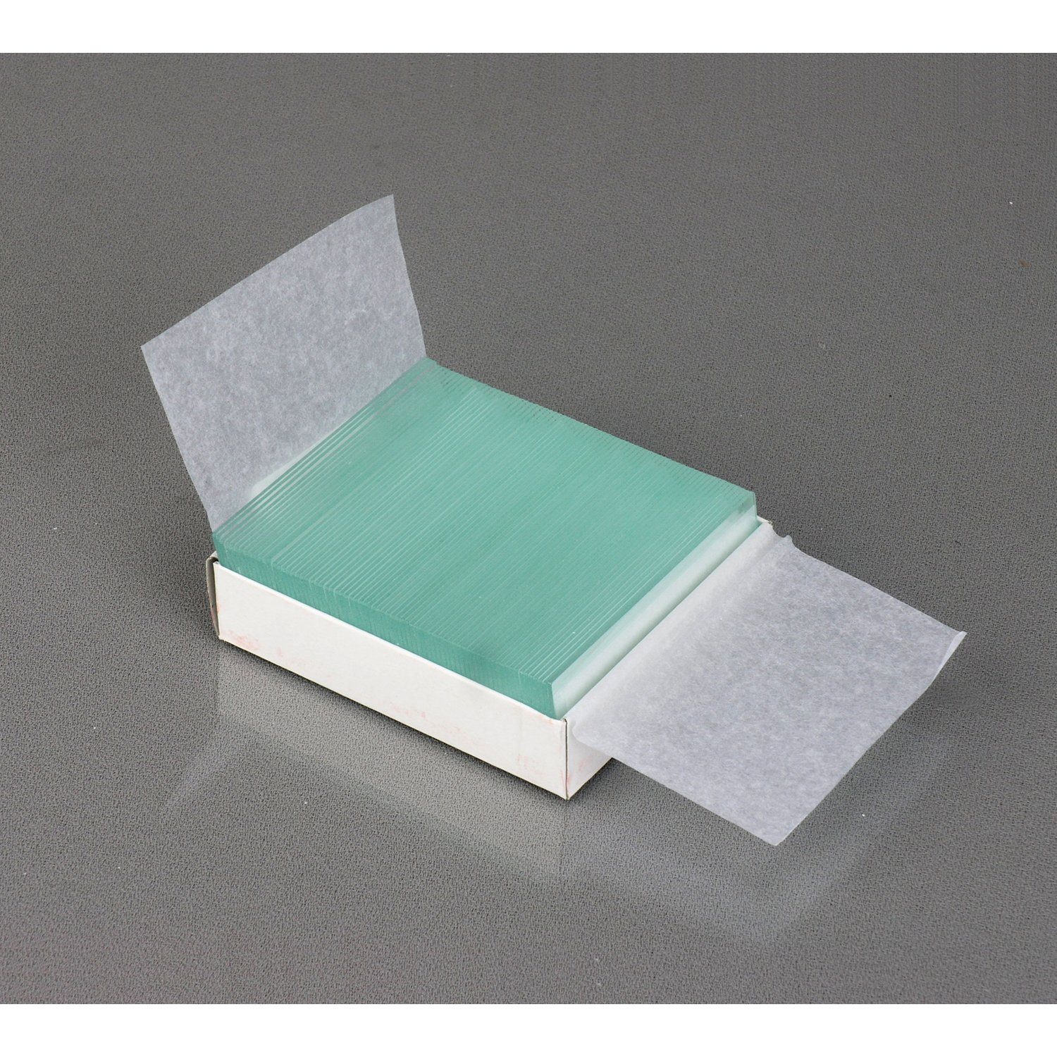 72 Pre-Cleaned Blank Plate Slides 12 Single Depression Concave Slides and 100 Coverslips AmScope PS25-BSC12-72P100S22 25 Microscope Prepared Slides