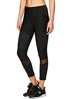 b92ac5475b341a RBX Active Women's Workout Yoga 7/8 Ankle Legging with Side Detail