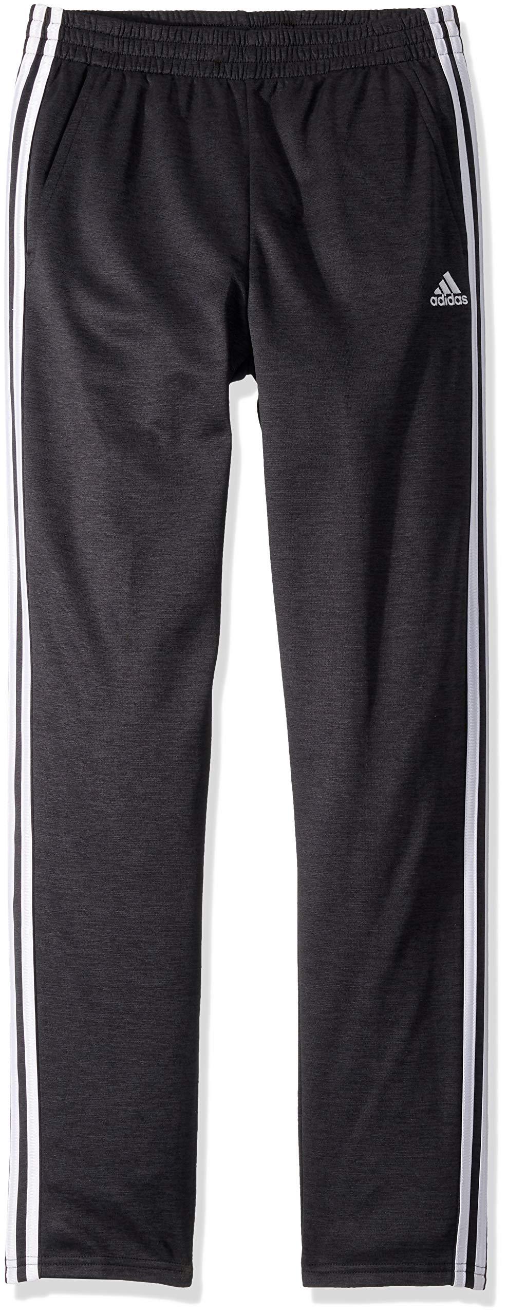 adidas Boys' Big Iconic Indicator Pant, Adi Black Heather, M (10/12) by adidas