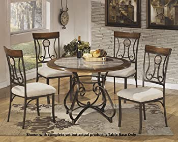 Ashley D314-15B Hopstand Collection Dining Room Table Base Only