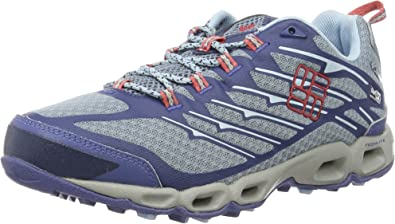 Columbia Ventrailia II Outdry, Zapatillas de Deporte Exterior para Mujer, Azul (Dark Mirage/Sunset Red), 36 EU: Amazon.es: Zapatos y complementos