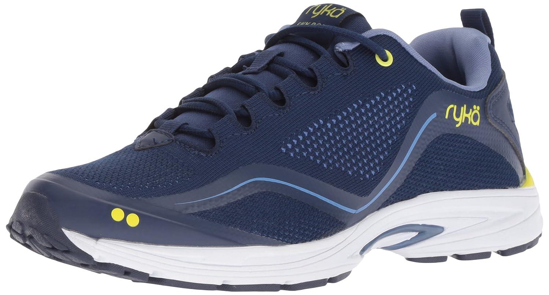 Ryka Women's Sky Bolt Walking Shoe B07BLHT2Z1 10 W US|Blue/Yellow