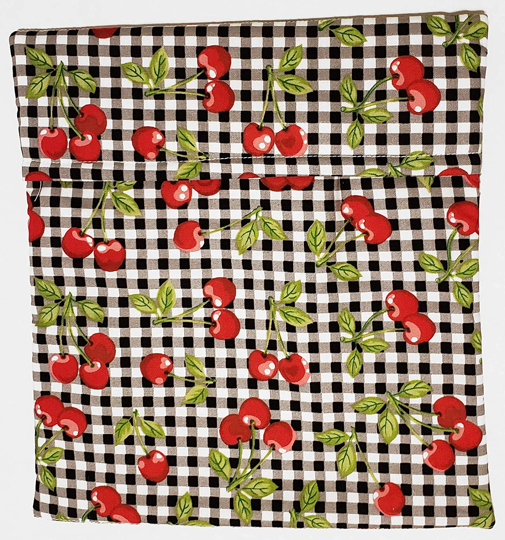 Microwave Potato Bag - Red Cherry