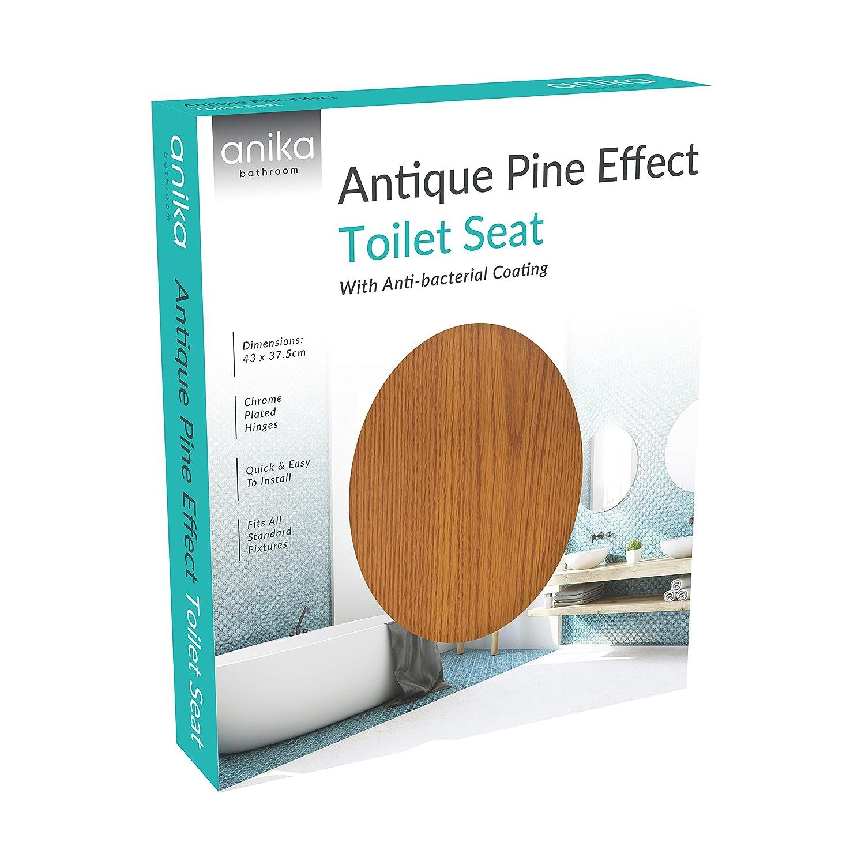 Anika, Antique Pine Effect, 43cm x 37.5cm: Amazon.es: Hogar