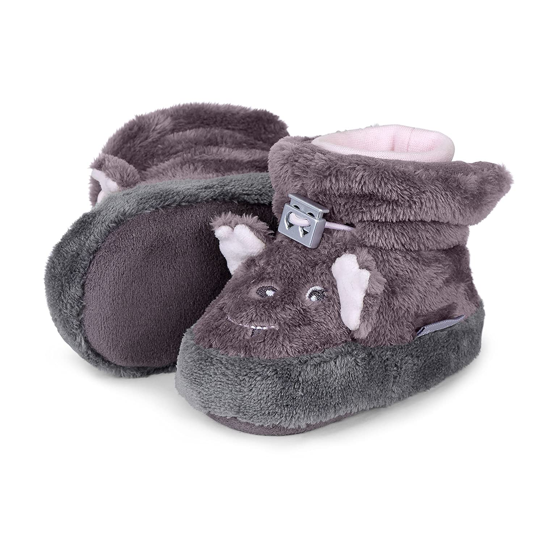 Sterntaler Baby-Schuhe für Mädchen gemustert rutschfeste Sohle Klettverschluss