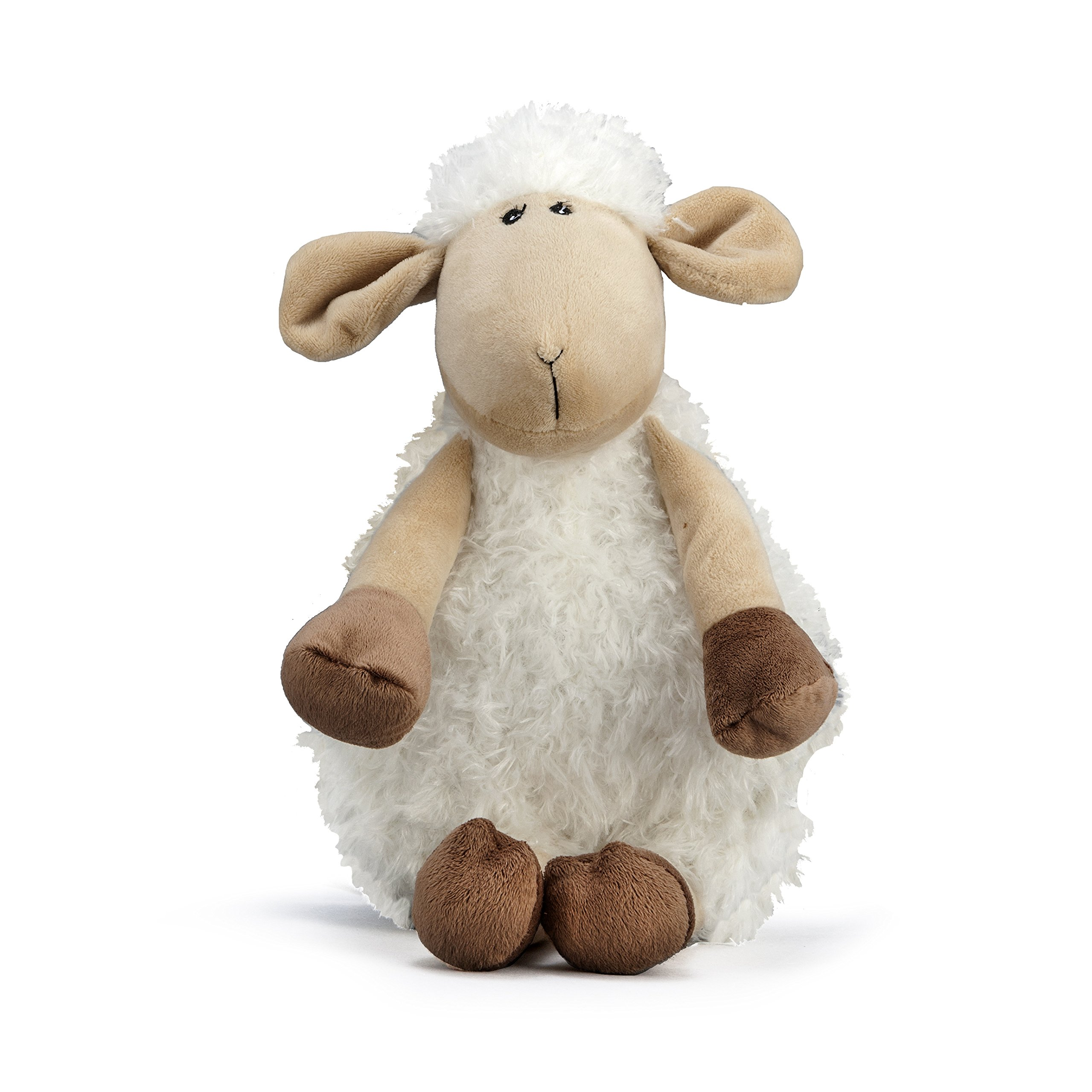 NANDOG My BFF Sheep Plush Dog Squeaky Toy (Beige)
