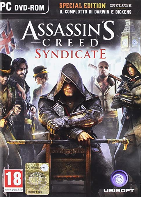 6 opinioni per Assassin's Creed: Syndicate- Day-One Edition- PC