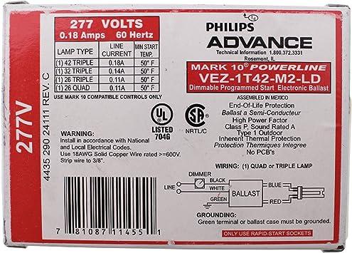 Advance 277V Ballast