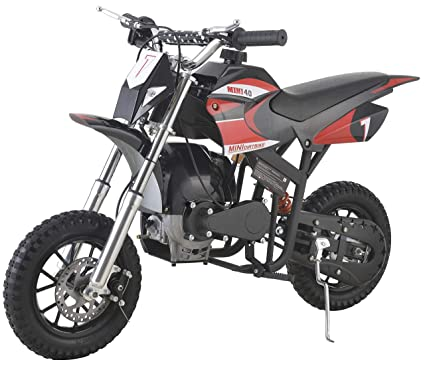 Se7en 40CC 2-Stroke Gas Powered Scooter Mini Dirt Bike,Pit