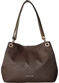 bbd9e5c6a93 Michael Kors Women s Fulton Large Leather Shoulder Bag