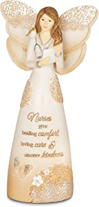 Pavilion Gift Company 19075 Nurse Angel Figurine, 6-Inch