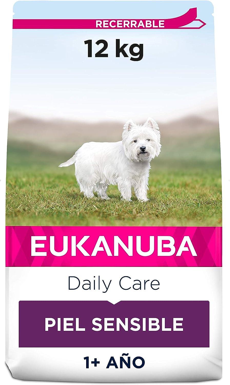 Eukanuba Daily Care Alimento seco para perros adultos con piel sensible 12 kg