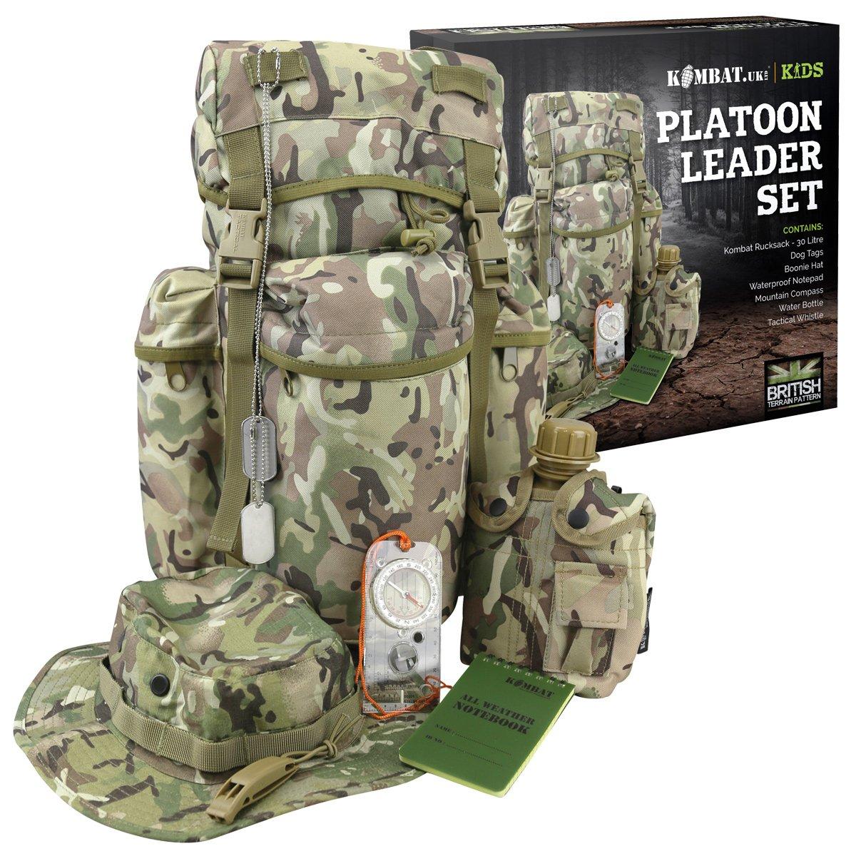 Kombat UK Kids Platoon Leader-Set, mehrfarbig 0602464941655