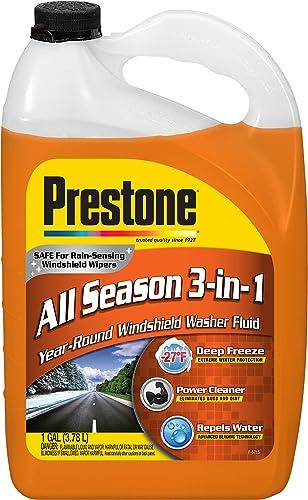 Prestone All Season 3-in-1 Windshield Washer Fluid