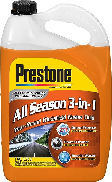 Prestone Líquido as658 Deluxe 3 en 1 líquido limpiaparabrisas: Amazon.es: Coche y moto