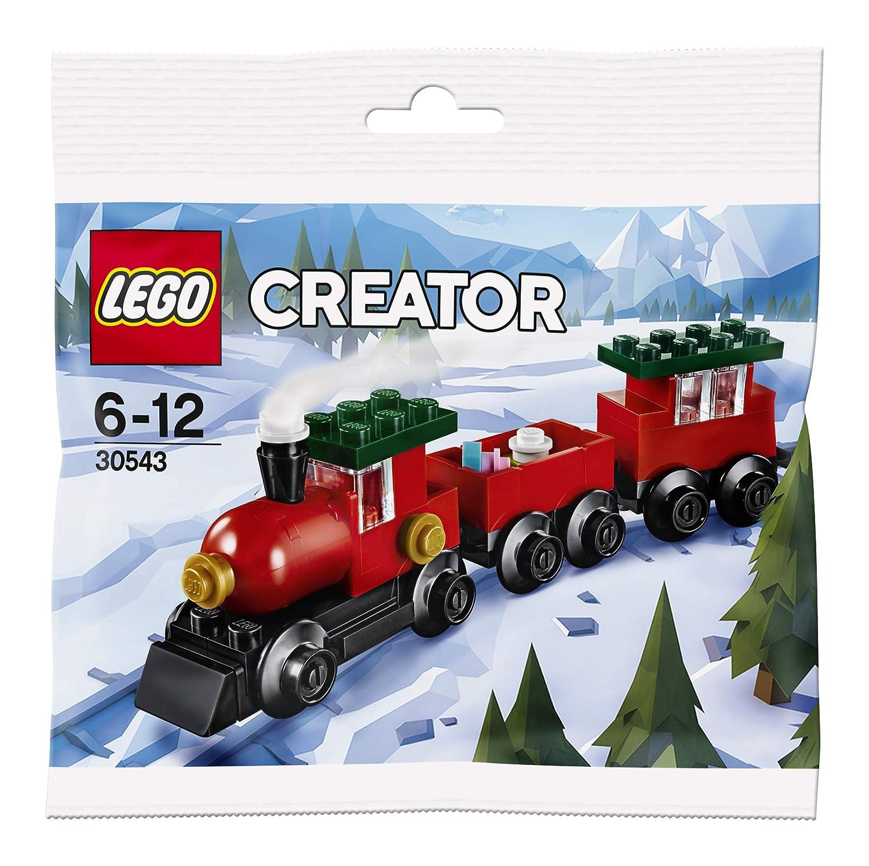 Lego Christmas Train.Lego Creator Christmas Train 30543 Polybag