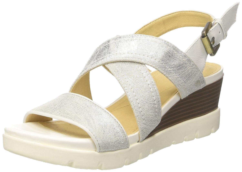 516106cb0b4 Geox D Marykarmen Plus B, Sandalias con Plataforma Plana para Mujer:  Amazon.es: Zapatos y complementos