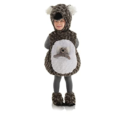 Underwraps Toddler's Koala Belly Babies Costume: Clothing