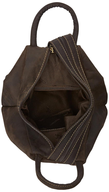 1ca7b6cced2d Visconti Oil Distressed Leather Backpack Bag Handbag Rucksack