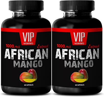 Amazon Com Best African Mango Seed Extract Pure African Mango 1000mg 4 1 Extract Weight Loss 2 Bottles 120