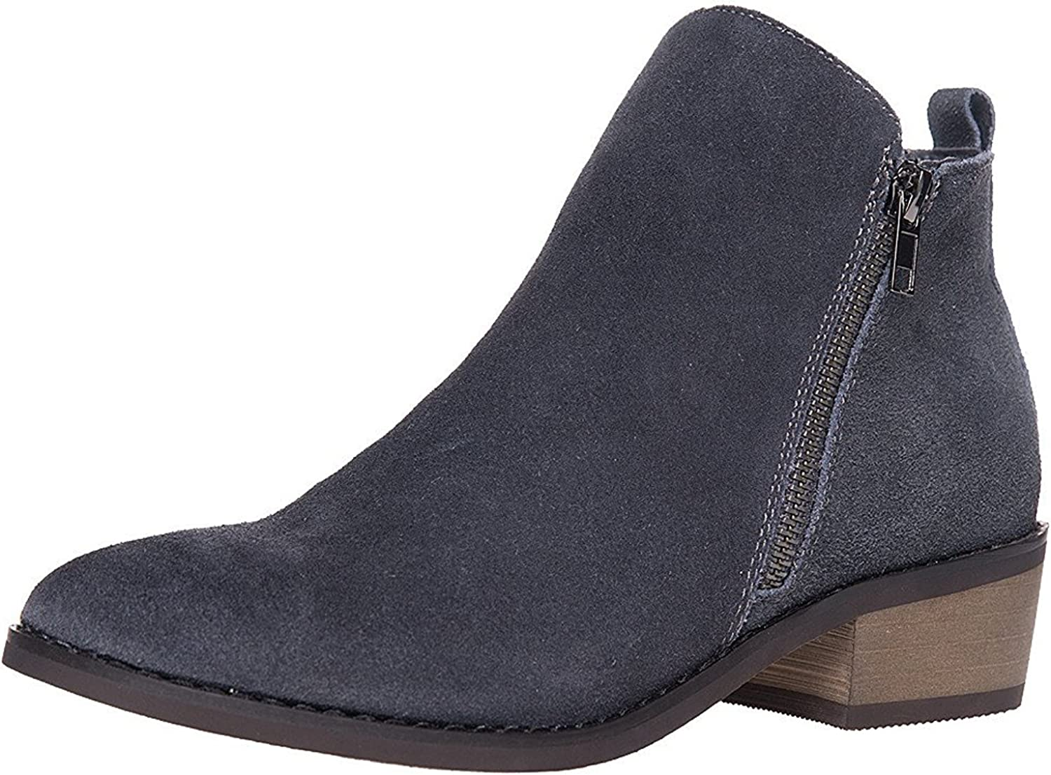 SheSole Ladies Womens Suede Ankle Boots