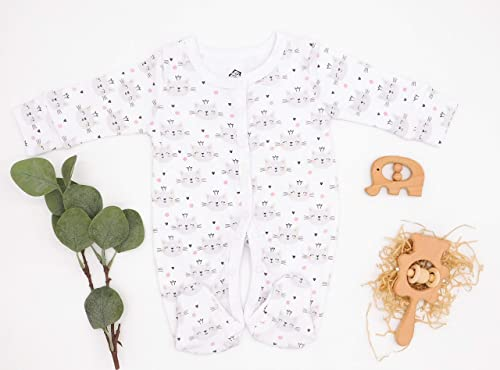 Baby Romper Mother of Kitties 100/% Cotton Long Sleeve Infant Bodysuit