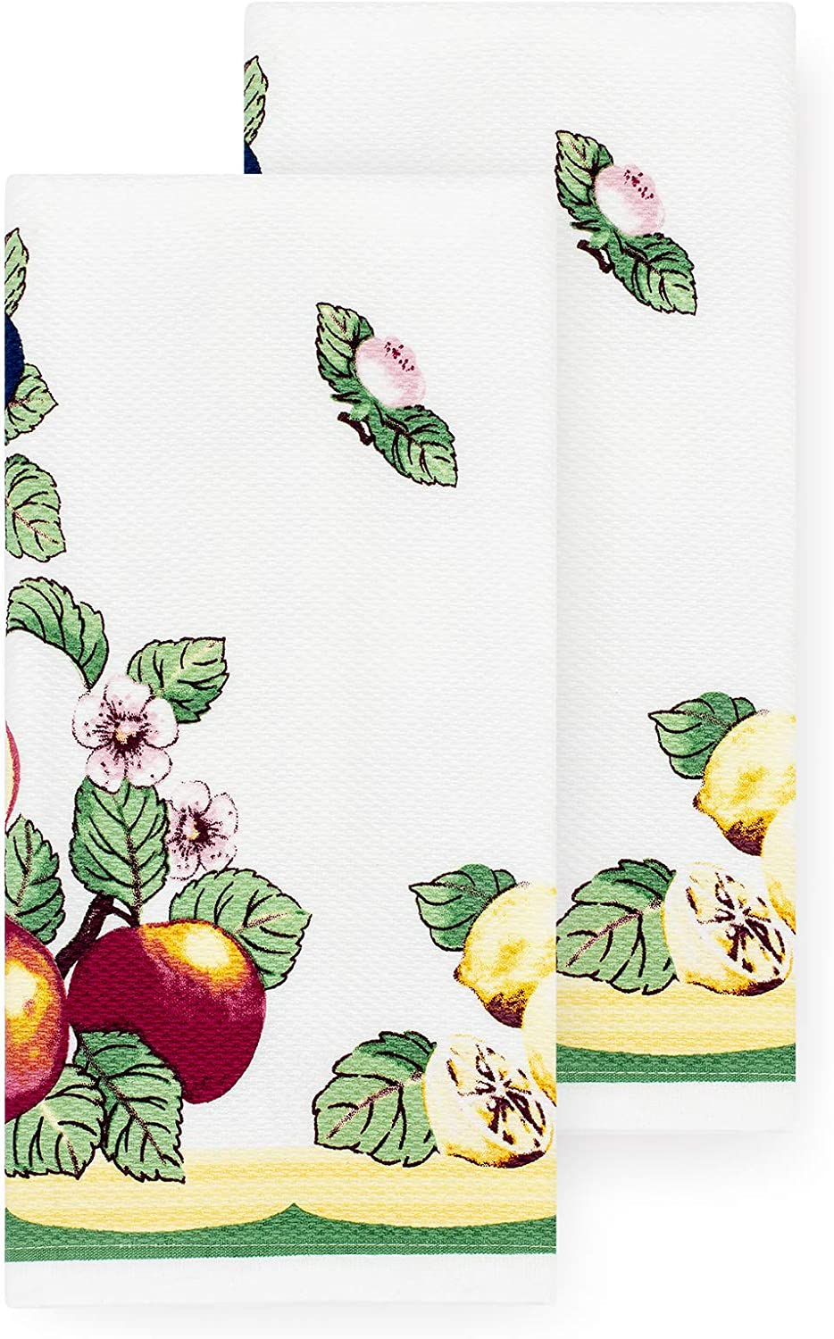 Villeroy and Boch French Garden Kitchen Towel, Set of 2, Kitchen Towels (Set of 2), Multi, 2 Pieces
