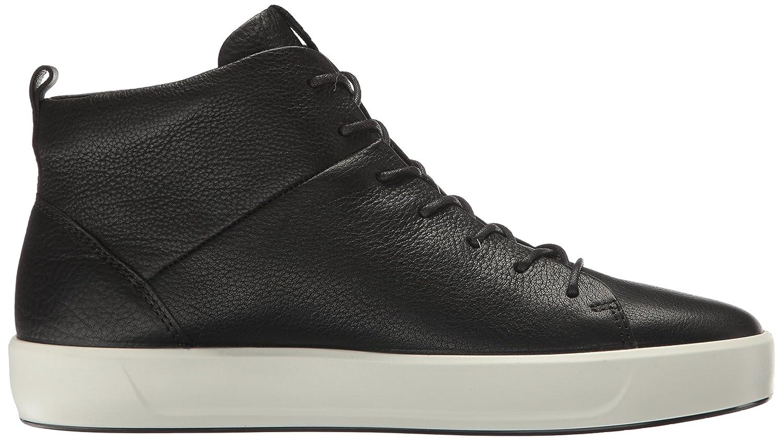 ECCO Women's Sneaker Soft 8 High-Top Fashion Sneaker Women's B01I6GTLZO 40 EU/9-9.5 M US Black 089a39