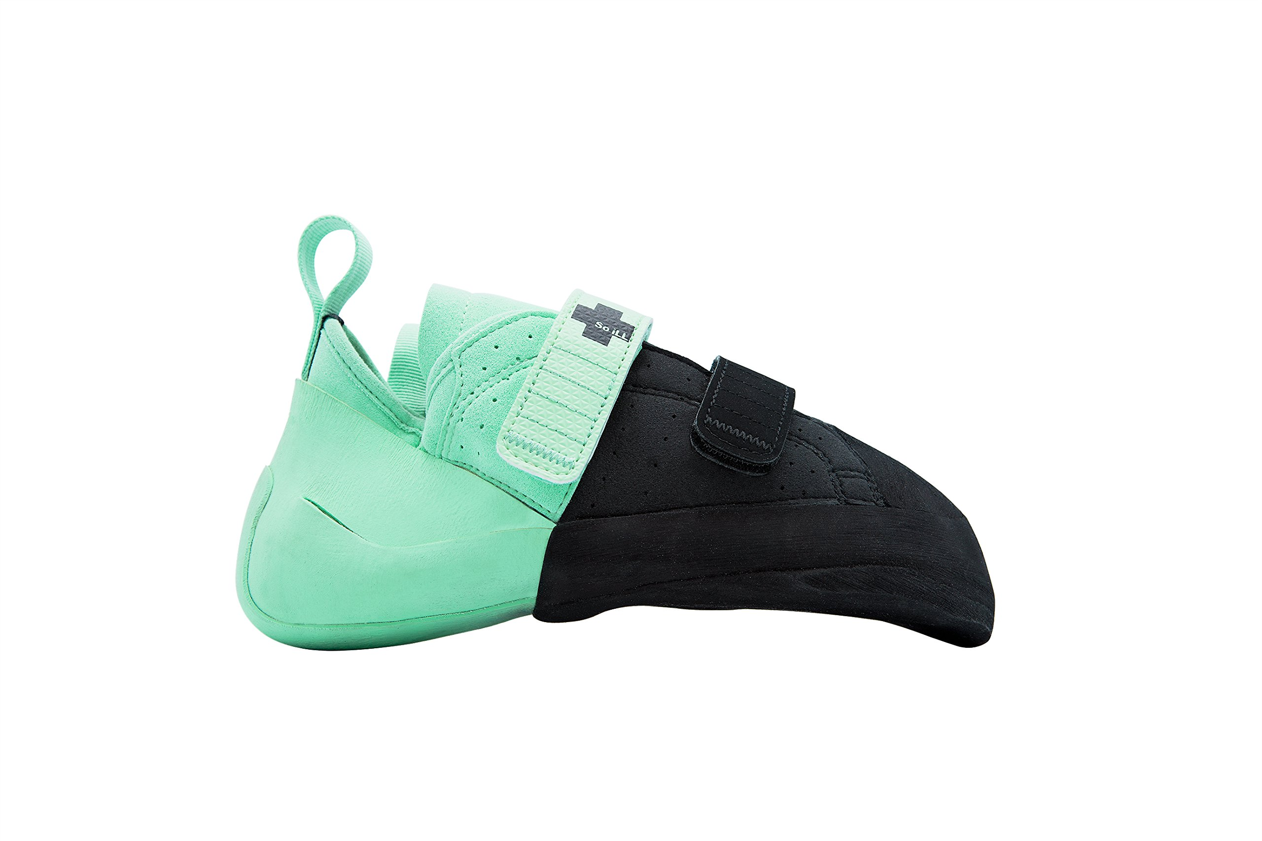 So iLL Street LV Half & Half Climbing Shoe (10) Black and Teal by So iLL