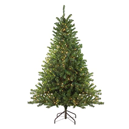 Amazon Com Northlight 5 Pre Lit Canadian Pine Artificial Christmas