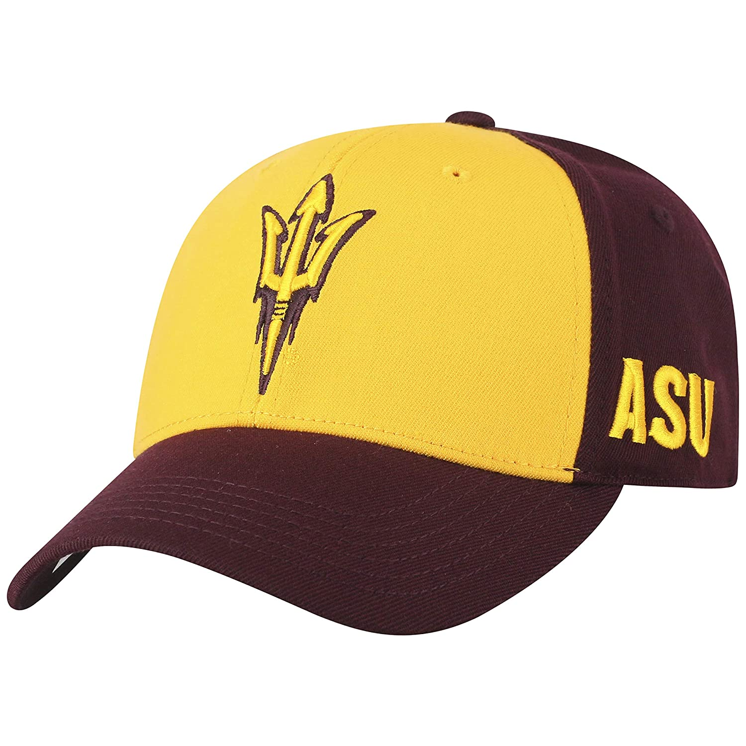3637dbf01 Top of the World NCAA-Premium 2 Tone with Team Colors-One-Fit-Memory  Fit-Hat Cap