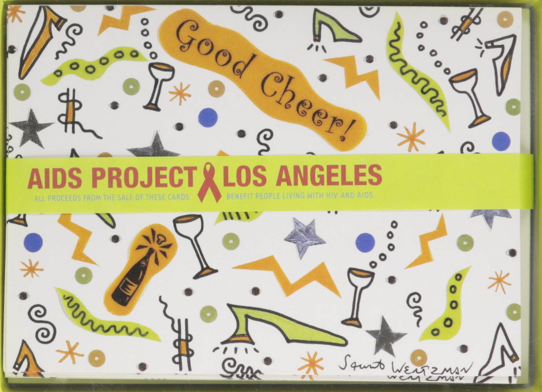 Read Online Aids Project Los Angeles Holiday Cards Stuart Weitzman with Cards and Envelope PDF