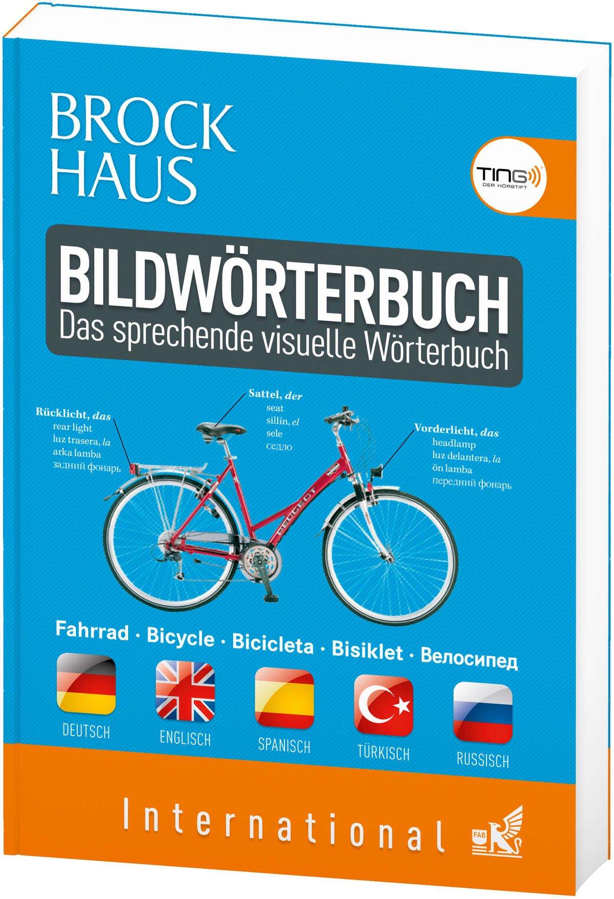 Brockhaus Bildwörterbuch international (TING fähig): Deutsch - Englisch - Spanisch - Türkisch - Russisch