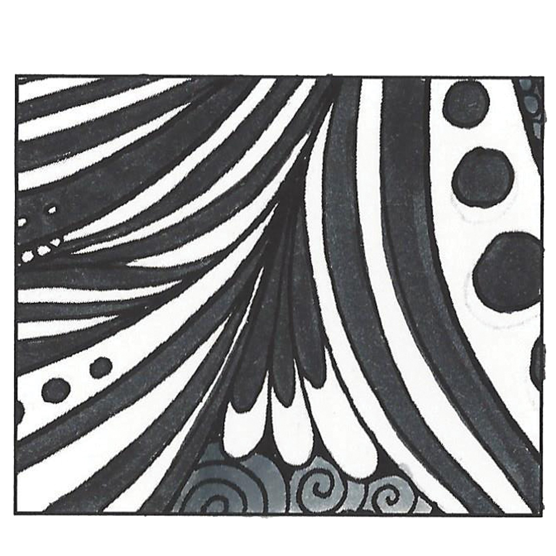 Tombow 56621 Dual Brush Pen, N15 - Black, 1-Pack. Blendable, Brush and Fine Tip Marker by Tombow (Image #4)