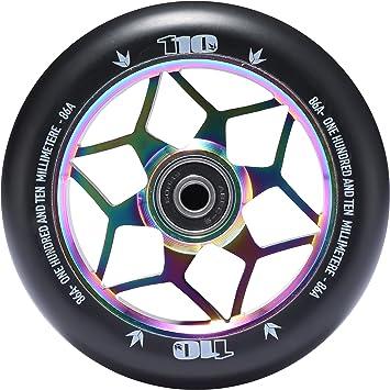 ENVY Scooters 110mm Diamond Wheel Pair Oil Slick