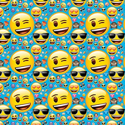Image Unavailable Not Available For Color Emoji Wrapping Paper