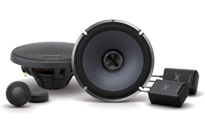 Alpine X-Series 6.5 Inch 360 Watt Component Car Audio Speaker System X-S65C