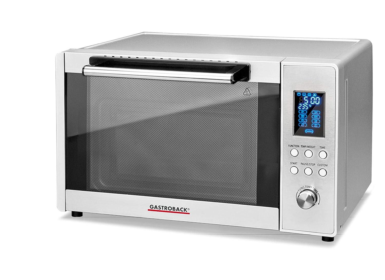 Gastroback 42813 Microondas, 1400 W, 28 litros, 0 Decibelios ...