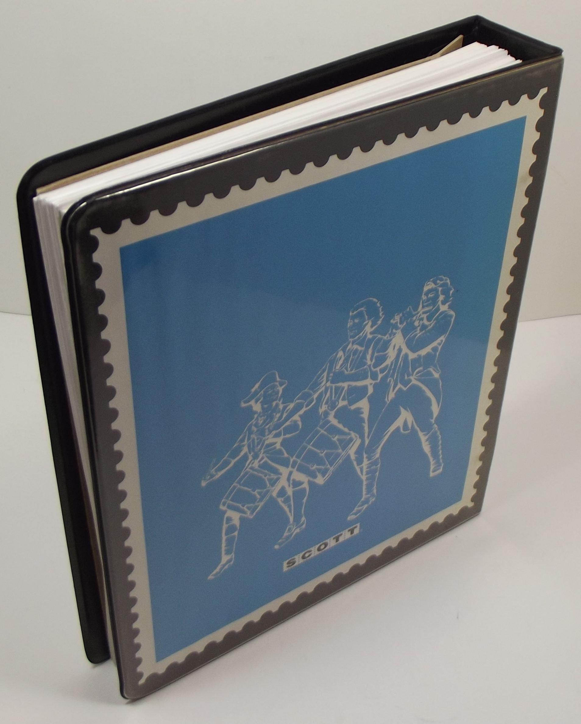 Scott Minuteman Stamp Album 180AMM0 (United States): Sott