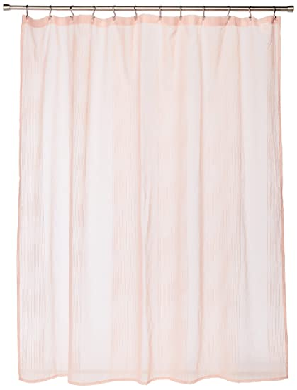Anna Sheer Pink Shower Curtain Casual Curtains For Bathroom 72 X