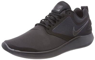Nike Men s Lunarsolo   Black Anthracite Running Shoes -11 UK India ... c85d26712